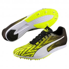 Puma evoSpeed Distance v7 Men's Spikes Yellow/White/Blk 189545-03