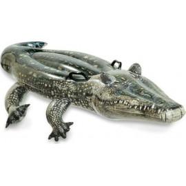 Στρώμα θαλάσσης Intex φουσκωτό Realistic Gator Ride-On (57551)