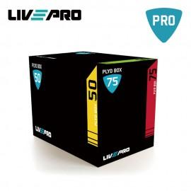 Πλειομετρικό Κουτί 3 σε 1 Soft Plyo Box Live Pro Β 8153