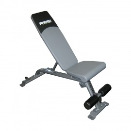 Ρυθμιζόμενος πάγκος της Force USA Flat Utility Incline/Decline Bench (F‑UFID) Λ-621