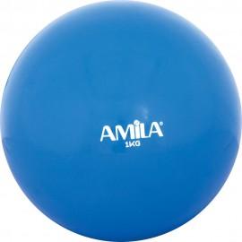 Μπάλα Γυμναστικής (δεν αναπηδά), 1kg, 9,5cm amila (84701)
