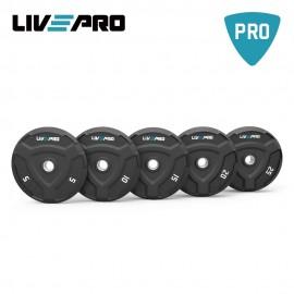 Δίσκος Bumper Plate 20 κιλών Β-8022-20 από την LIVE PRO