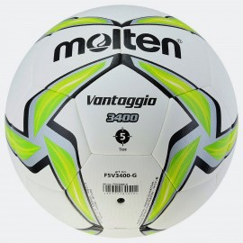 Μπάλα ποδοσφαίρου Molten Hybrid Football No5 F5V3400-G - white/lime