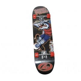 Skateboard Τροχοσανίδα στενή ΑΘΛΟΠΑΙΔΙΑ, απλή Νο1 3999 SH