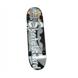 Skateboard Τροχοσανίδα στενή ΑΘΛΟΠΑΙΔΙΑ, απλή Νο1 3999 SB