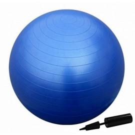 Μπάλα γυμναστικής Fitball 65 cm Navy με τρόμπα
