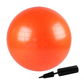 Μπάλα γυμναστικής Fitball 55 cm orange με τρόμπα
