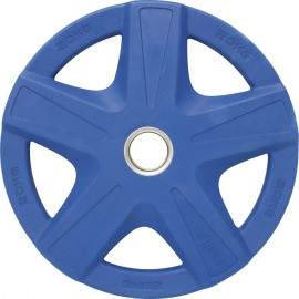 Δίσκος 20κιλών με επένδυση λαστίχου , ολυμπιακού τύπου Μπλε σκούρο 84574