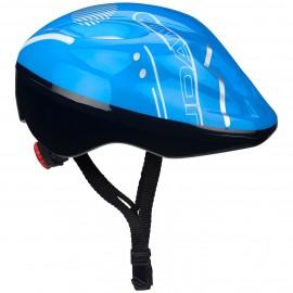 Προστατευτικό κράνος παιδικό για Skate και Roller NIJDAM 52 56 (Μπλε) 75CZ BWG