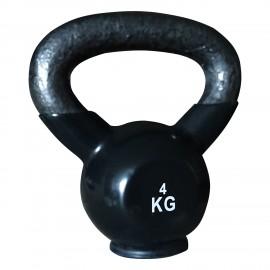 Kettlebell Βινυλίου με Βάση λάστιχου (4kg) pegasus B 4114 04
