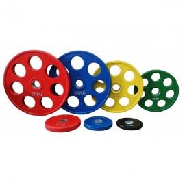Ολυμπιακοί Δίσκοι με λάστιχο 15kg Φ50 Pegasus Β-1127-15
