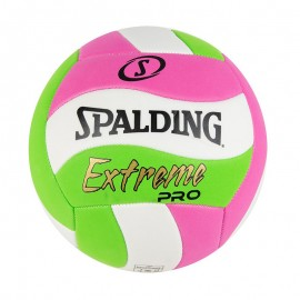 Μπάλα βόλεϊ SPALDING Μπάλα VOLLEY EXTREEME PRO NEON PINK/GREEN 72-197Z1