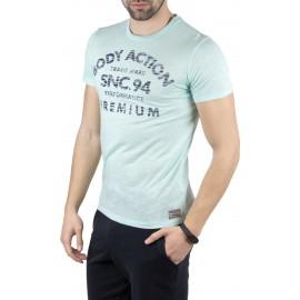 Ανδρικό αθλητικό μπλουζάκι BODY ACTION 053925-veraman