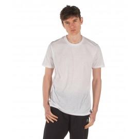 Ανδρικό αθλητικό μπλουζάκι BODY ACTION 053932-01-02 Λευκό