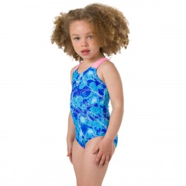 SPEEDO DISNEY FROZEN 1 PIECE 8-07970C783 Μπλε