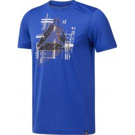 REEBOK Ανδρική Κοντομάνικη Μπλούζα Foundations Tee DP6190 blue