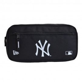 New Era MLB Cross Body New York Yankees Bag Black Waistpack Sachet Kidney - 11942050 BLACK