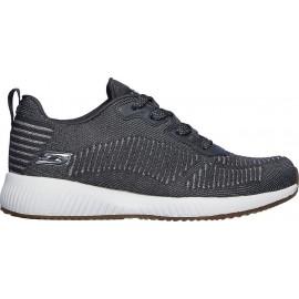Γυναικεία παπούτσια Skechers Bobs Sport Squad ΓΚΡΙ ΣΚΟΥΡΟ-ΑΣΗΜΙ