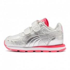 Παιδικά Παπούτσια PUMA VISTA GLITZ 369721-04 ΑΣΗΜΙ