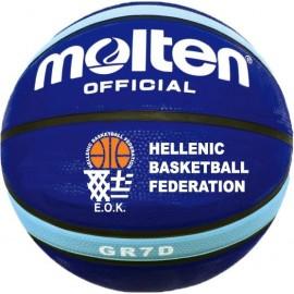 Μπάλα μπάσκετ MOLTEN BGR7D-LBB HELLAS (EOK)