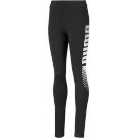 Puma Essentials Girls Graphic Leggings - Παιδικό Κολάν (843763-01)