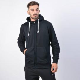 Αντρική ζακέτα Body Action Fleece Full-Zip Sweatshirt - Ανδρική Ζακέτα 073915-01 black1)