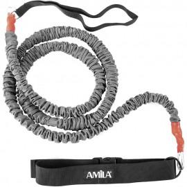 Λάστιχο Αντίστασης Μέσης amila (αντίσταση 15kg) μήκους 2,5m 96970