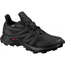 Aνδρικά trail παπούτσια SALOMON SUPERCROSS GTX BLACK 408088