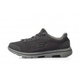 Aνδρικά παπούτσια Skechers GOwalk 5 55509-CCBK Γκρί