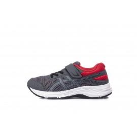 Παιδικό παπούτσι ASICS CONTEND 6 PS 1014A087-021 Ανθρακί