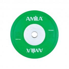Δίσκος Φ50mm, 10kg amila ολυμπιακού τύπου 84607
