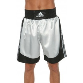 Μαύρο/γκρι σορτσάκι πυγμαχίας Adidas ADISMB03