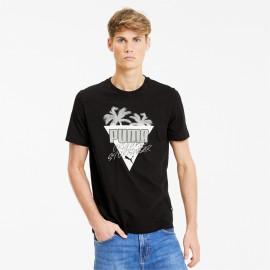 Summer Palms Graphic r. L T-shirt Puma 581917-01