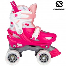 "Nijdam Roller Skates Ρυθμιζόμενα ""Feather Drops"" N21AA02"