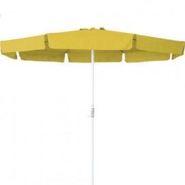 Ομπρέλα παραλίας/βεράντας/κήπου Escape 3m κίτρινη (12091)