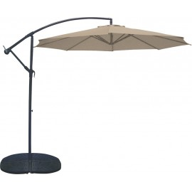Ομπρέλα κήπου Escape 3m αλουμινίου καφέ (12107)