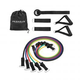 Σετ Λάστιχα Ενδυνάμωσης με Λαβές Pegasus® Β 6333