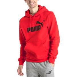 Puma Essentials Fleece Hoodie 851743-05 ΚΟΚΚΙΝΟ