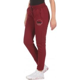 Γυναικείο παντελόνι φόρμας WOMEN ATHLETIC JOGGERS - MAROON 021017-08D