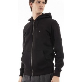 Magnetic North Mens Zipper Hoodie Φούτερ Μαύρο 19083 Black