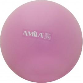 Μπάλα Pilates 19cm Ροζ 95803