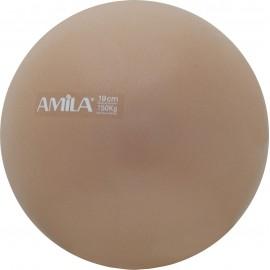 Μπάλα Pilates 19cm Χρυσή 95801