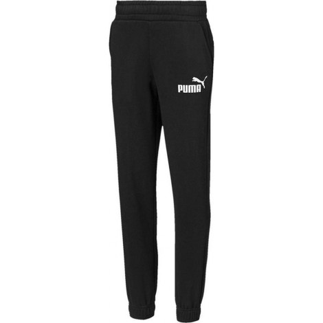 Puma Παντελόνι Φόρμας με Fleece ESS Logo Sweat Pants Fl 852107-01 Μαύρο