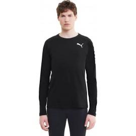 Puma Modern Sports Long Sleeve Tee 583477 -01 ΜΑΥΡΟ
