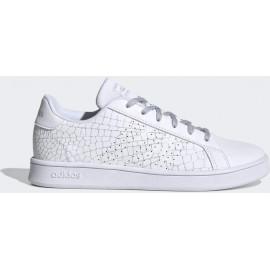 adidas Εφηβικό Παπούτσι Μόδας Fw20 Advantage K FW3186 White-Grey
