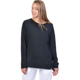 WOMEN PULLOVER SWEATSHIRT 061928-01 BLACK