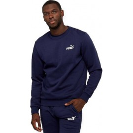 Puma Ανδρικό Φούτερ Fw20 Ess Logo Crew Sweat Fl 851748-06 navy