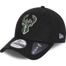 ΚΑΠΕΛΟ New Era Milwaukee Bucks Diamond Era Black 9FORTY 60112629 Black