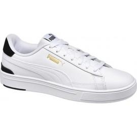Puma Smash Pro Ανδρικά Παπούτσια Puma White--Puma Team Gold-Puma Black 380188-02
