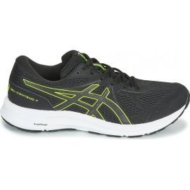 Asics Gel-Contend 7 Ανδρικό Παπούτσι για Τρέξιμο 1011B040-003M AΝΘΡΑΚΙ/ΚΙΤΡΙΝΟ